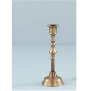 NWT Magnolia Home Leopold Brass Candlestick